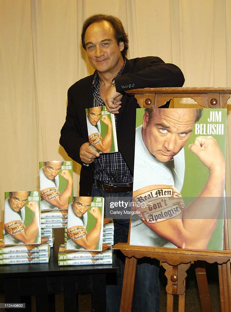 "Jim Belushi Signs Copies of His New Book ""Real Men Don't Apologize!"" - May 15,"