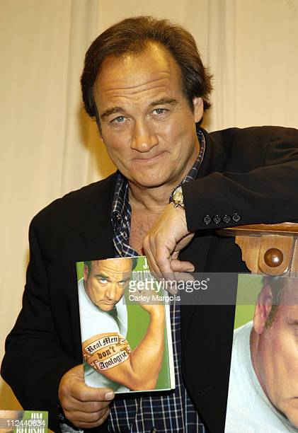 """Jim Belushi during Jim Belushi Signs Copies of His New Book """"Real Men Don't Apologize!"""" - May 15, 2006 at Barnes and Noble in New York City, New..."""