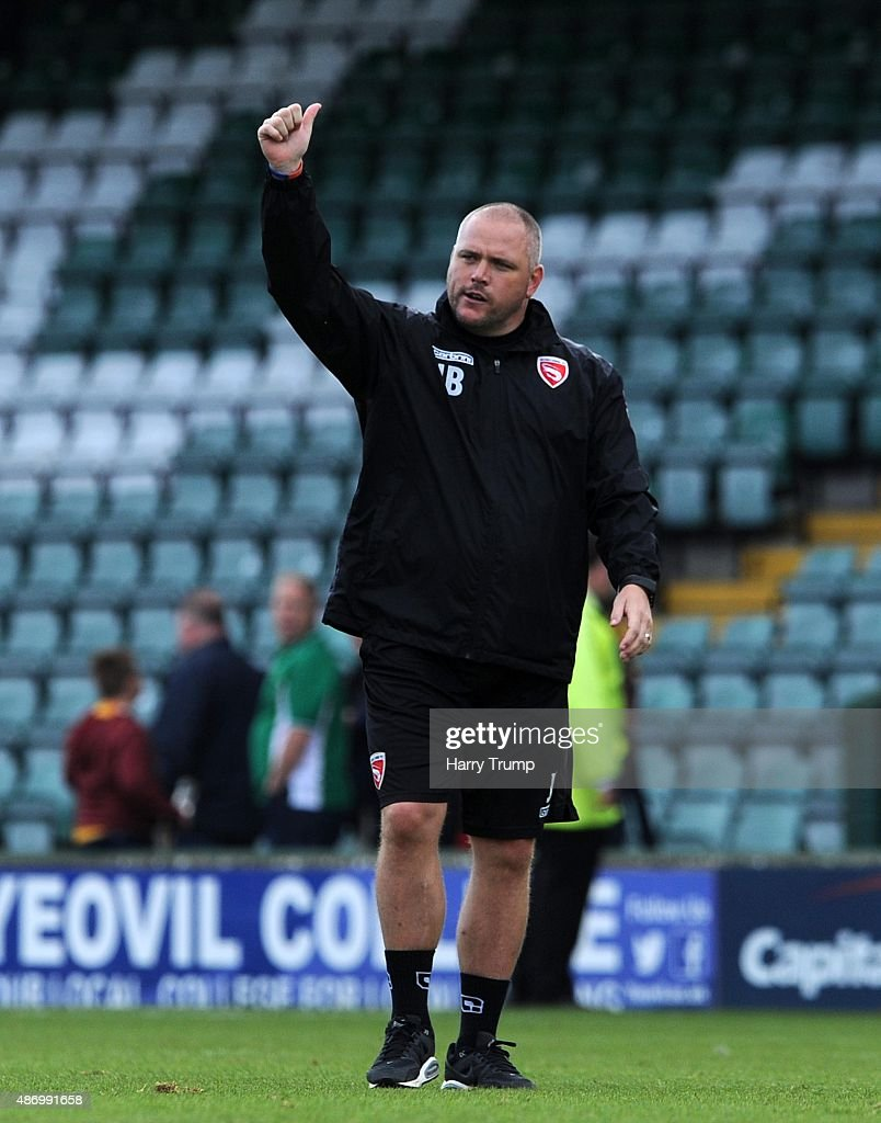 Yeovil Town v Morecambe - Sky Bet League Two : News Photo