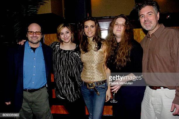 Jim Bessman Kristina Tunzi Nazanin Christa Titus and Chuck Taylor attend GOTHAM bodogMUSIC Album Preview Performance By Singer Nazanin at THE PLUMM...