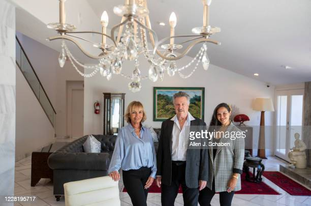 Jim Brady center CEO of AToN a rehab company that he started with his wife Patricia Brady left more than a decade ago and their daughter Pat chief...