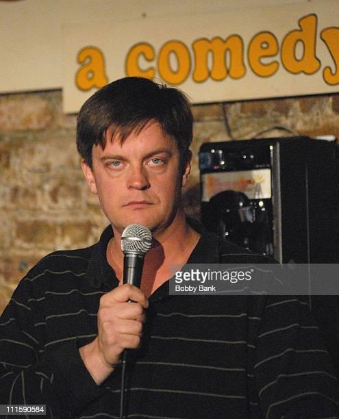 Jim Breuer during Jim Breuer Headlines Stress Factory Comedy Club at Stress Factory Comedy Club in New Brunswick, New Jersey, United States.