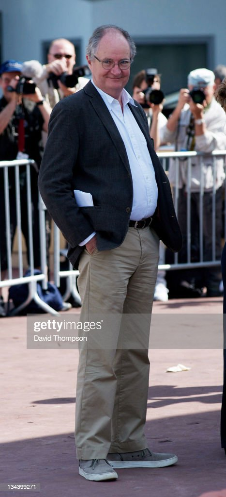 Jim Broadbent arrives at the palias de festival on May 15, 2010 in Cannes, France.