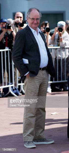 Jim Broadbent arrives at the palias de festival on May 15 2010 in Cannes France