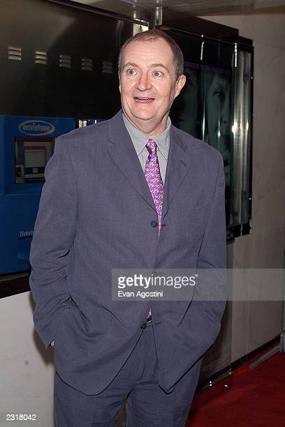 Jim Broadbent arriving at the world film premiere of Miramax's 'Iris' at the Paris Theatre in New York City 12/2/2001 Photo Evan Agostini/ImageDirect