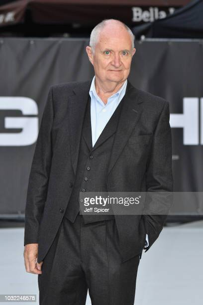 Jim Broadbent attends the World Premiere of 'King Of Thieves' at Vue West End on September 12 2018 in London England