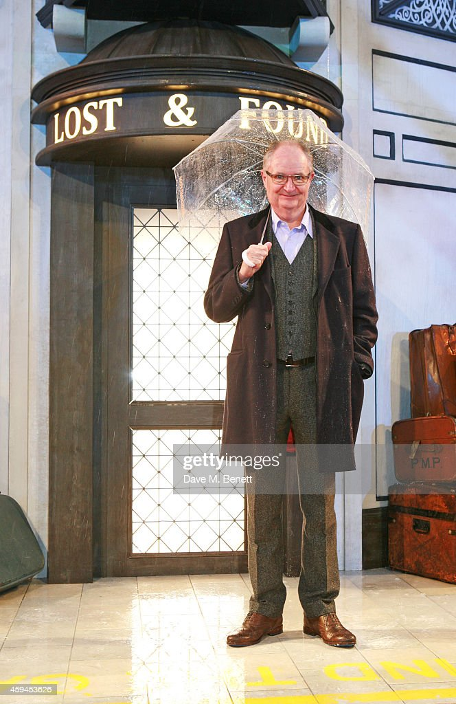 Jim Broadbent attends the World Premiere of 'Paddington' at Odeon Leicester Square on November 23, 2014 in London, England.