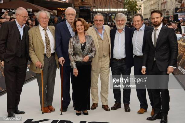 Jim Broadbent Michael Gambon Sir Michael Caine Francesca Annis Ray Winstone Sir Tom Courtenay Paul Whitehouse and Charlie Cox attend the World...