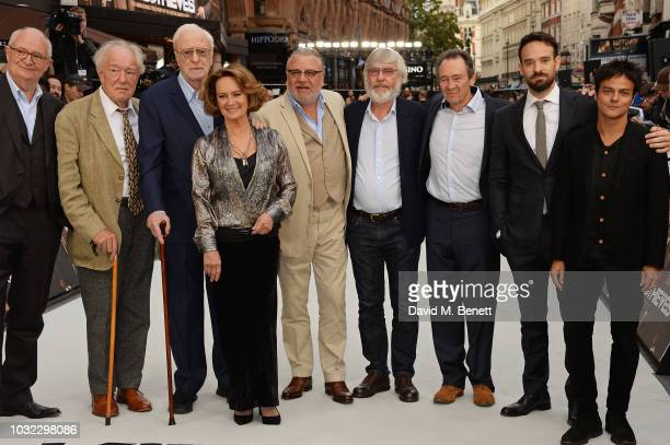Jim Broadbent Michael Gambon Sir Michael Caine Francesca Annis Ray Winstone Sir Tom Courtenay Paul Whitehouse Charlie Cox and Jamie Cullum attend the...