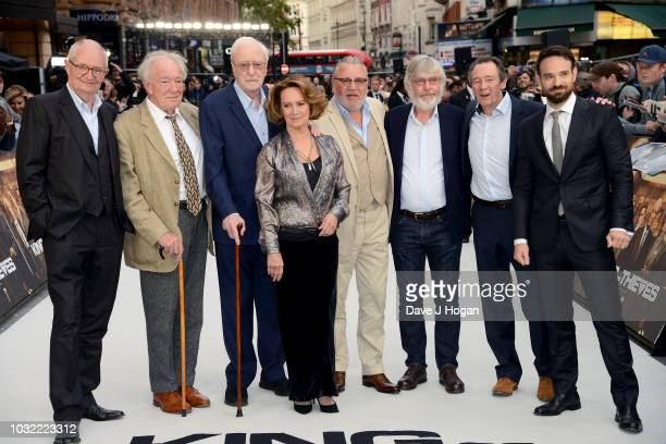 Jim Broadbent Sir Michael Gambon Sir Michael Caine Francesca Annis Ray Winstone Sir Tom Courtenay Paul Whitehouse and Charlie Cox attend the World...