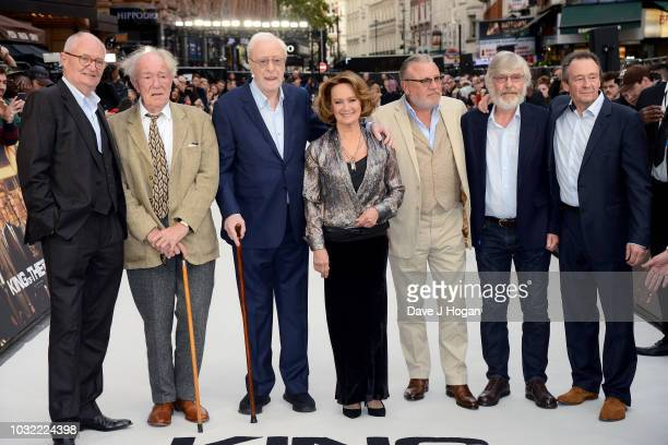 Jim Broadbent Sir Michael Gambon Sir Michael Caine Francesca Annis Ray Winstone Sir Tom Courtenay and Paul Whitehouse attend the World Premiere of...