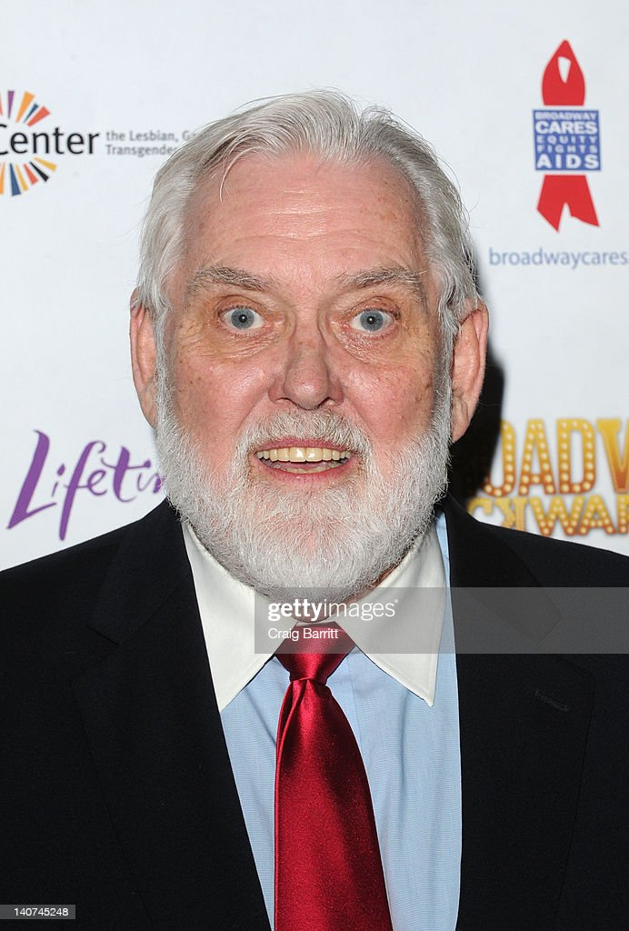 Jim Brochu attends Broadway Backwards 7 at the Al Hirschfeld Theatre on March 5, 2012 in New York City.