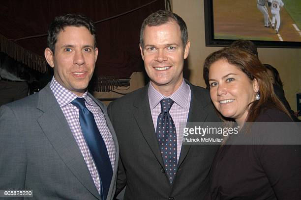 Jim Brodsky, Sean Richter and Nina Richter attend EMMA SNOWDON-JONES Birthday Celebration And CHARITY Fund Raiser at Frederick's Lounge on October...