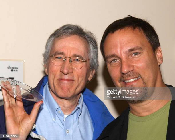 Jim Brogan and Craig Shoemaker during Comedians Perform for Katrina Relief at The Wiltern - October 17, 2005 at The Wiltern Theater in Los Angeles,...