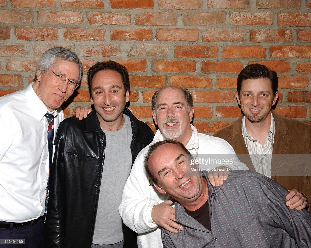 Jim Brogan, Jeremy Hotz, Bob Fisher, Owner of the Ice House