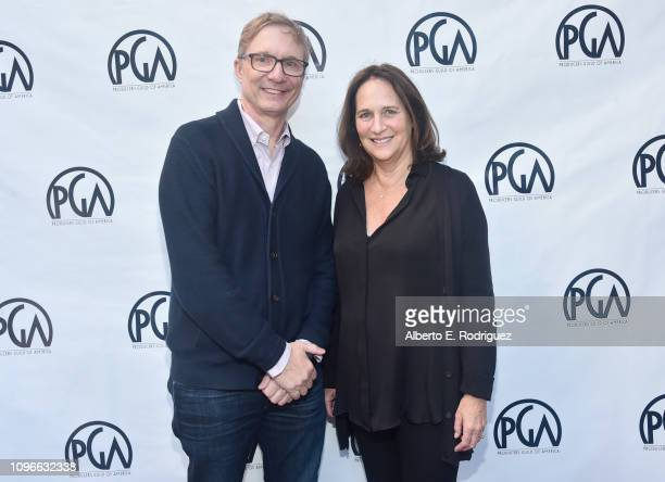 Jim Burke and Lucy Fisher attend the 2019 PGA Nominees Breakfast on January 19 2019 in Beverly Hills California