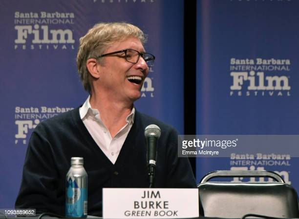 Jim Burke of 'Green Book' speaks onstage at the Producers Panel during the 34th Santa Barbara International Film Festival at Lobero Theatre on...
