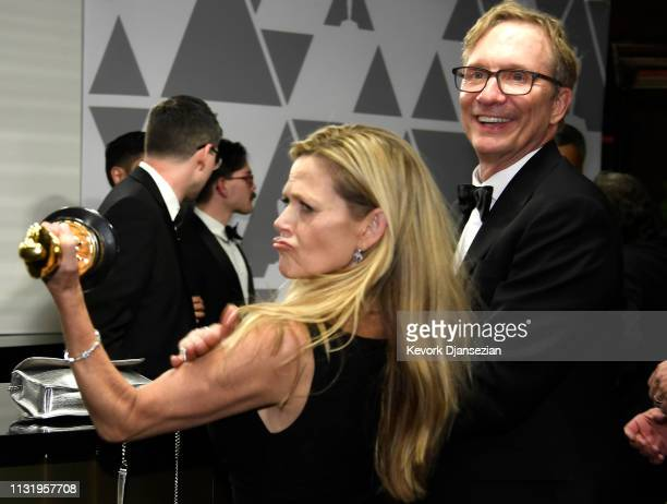 Jim Burke winner of the Best Picture award for 'Green Book' attends the 91st Annual Academy Awards Governors Ball at Hollywood and Highland on...