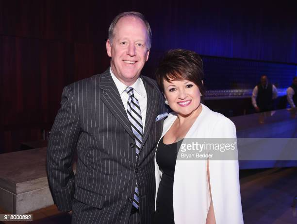 Jim Bush and Nancy Bush attend the Winter Gala at Lincoln Center at Alice Tully Hall on February 13 2018 in New York City