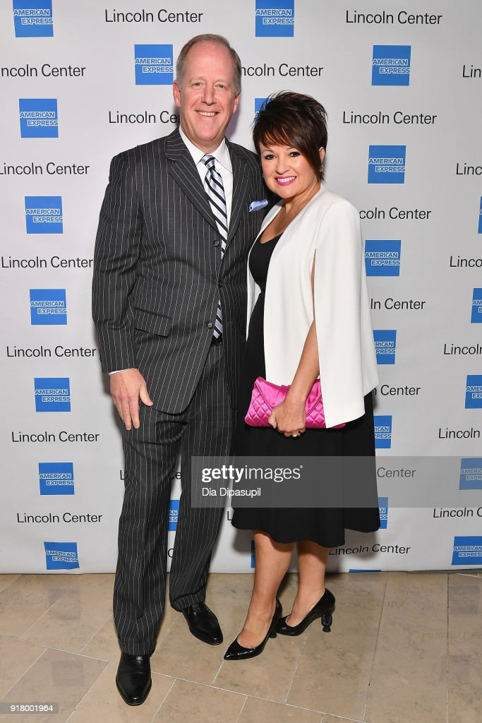 Jim Bush (L) and Nancy Bush attends the Winter Gala at Lincoln Center at Alice Tully Hall on February 13, 2018 in New York City.