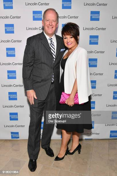 Jim Bush and Nancy Bush attends the Winter Gala at Lincoln Center at Alice Tully Hall on February 13 2018 in New York City
