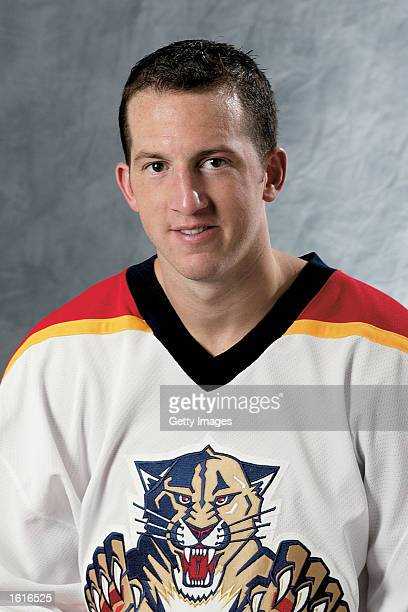 Jim Campbell of the Florida Panthers poses for a portrait on September 1 2002 at National Car Rental Center in Sunrise Florida