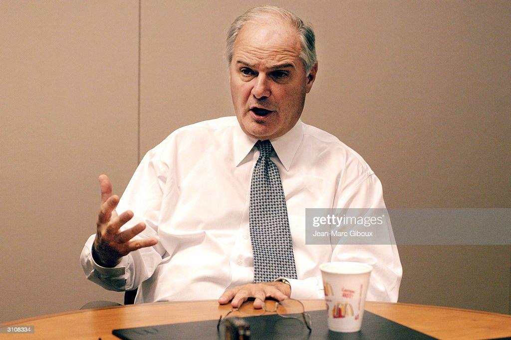 Jim Cantalupo, CEO of McDonald...