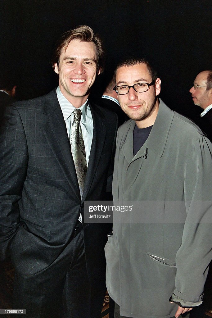 Jim Carrey and Adam Sandler during 2000 NATO/Showest Convention at ...