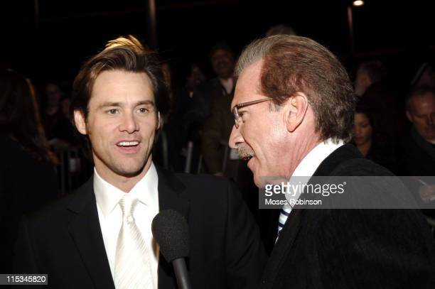 Jim Carrey and Pat O'Brien during Muhammad Ali Center Grand Opening Red Carpet at Muhammed Ali Center in Louisville Kentucky United States