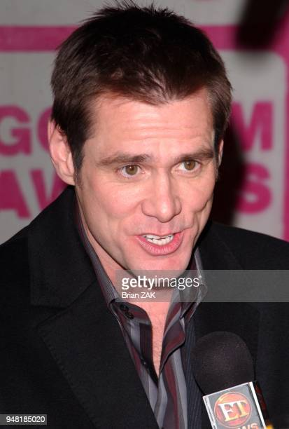 Jim Carrey arrives to the 14th IFP Gotham Awards held at Pier 60 Chelsea Piers New York City