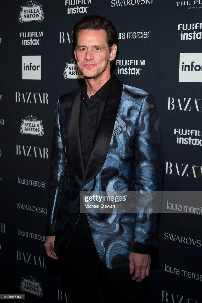 Jim Carrey attends 2017 Harper's Bazaar Icons at The Plaza Hotel on September 8, 2017 in New York City.