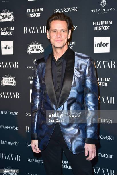Jim Carrey attends 2017 Harper's Bazaar Icons at The Plaza Hotel on September 8 2017 in New York City