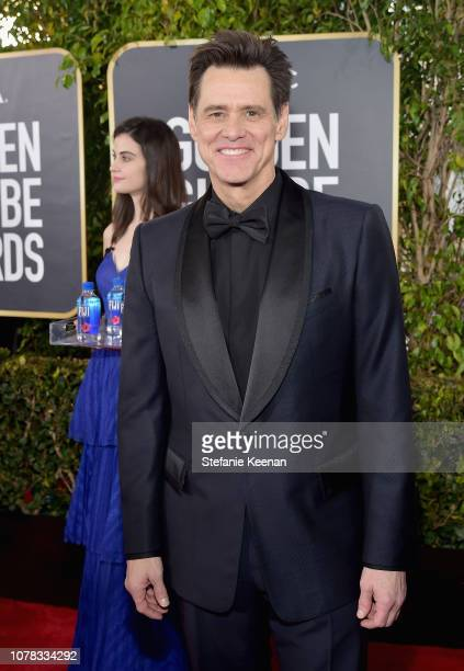 Jim Carrey attends FIJI Water at the 76th Annual Golden Globe Awards on January 6 2019 at the Beverly Hilton in Los Angeles California