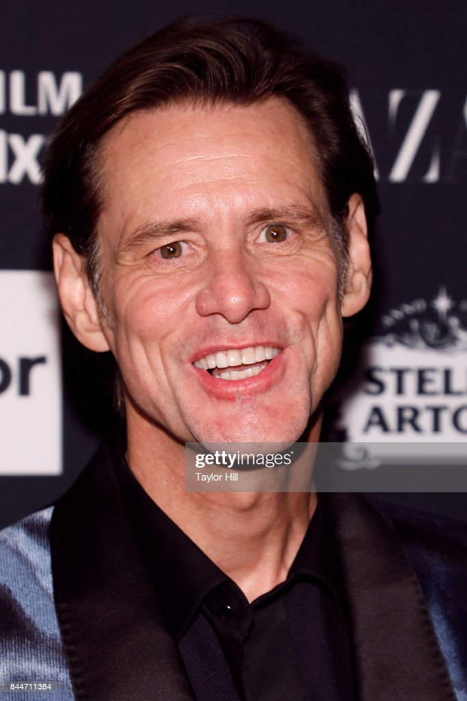 Jim Carrey attends the 2017 Harper ICONS party at The Plaza Hotel on September 8, 2017 in New York City.