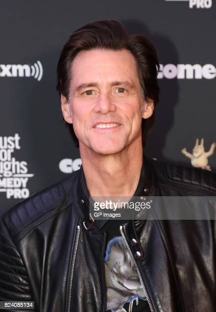 Jim Carrey attends the Just For Laughs Comedy Festival 2017 held at the Hyatt Regency on July 28 2017 in Montreal Canada