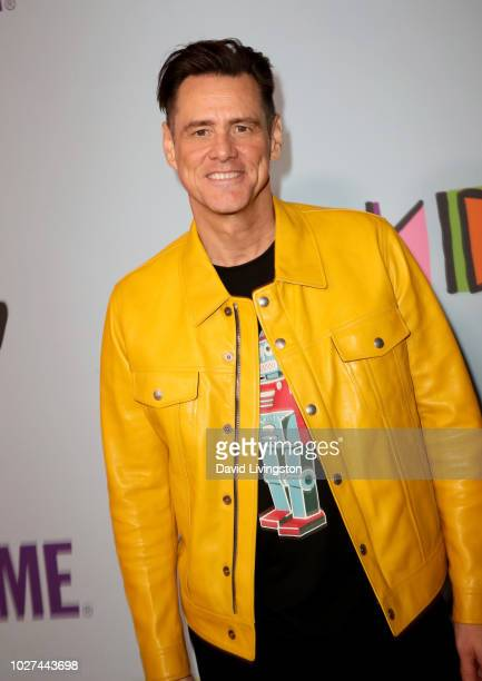 Jim Carrey attends the premiere of Showtime's Kidding at The Cinerama Dome on September 5 2018 in Los Angeles California