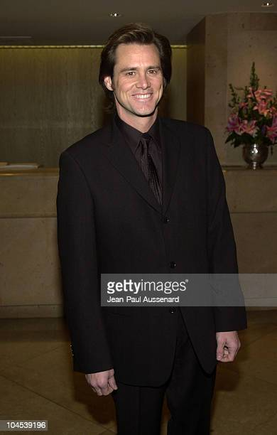 Jim Carrey during 22nd St Jude Hollywood Gala at Beverly Hilton Hotel in Beverly Hills California United States