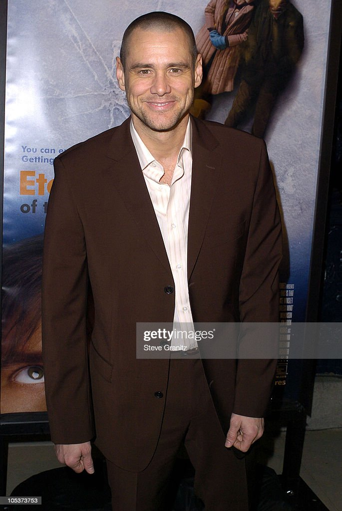 Jim Carrey during 'Eternal Sunshine Of The Spotless Mind' - Los Angeles Premiere at Academy Theatre in Beverly Hills, California, United States.