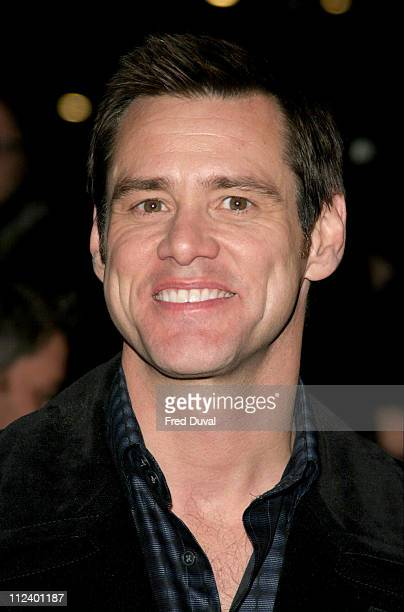 Jim Carrey during 'Lemony Snicket's A Series Of Unfortunate Events' London Premiere at Empire Leicester Square in London United Kingdom