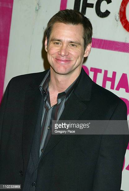 Jim Carrey during The 14th Annual Gotham Awards Gala - Arrivals at Pier 60 in New York City, New York, United States.