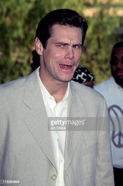 Jim Carrey during 'The Nutty Professor' Los Angeles Benefit Premiere at Universal Studios Amphiteatre in Universal City California United States