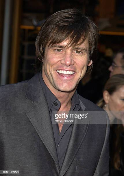 Jim Carrey during The World Premiere of Bruce Almighty at Universal Amphitheatre in Universal City California United States