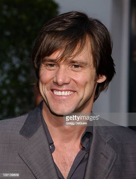 Jim Carrey during The World Premiere of 'Bruce Almighty' at Universal Amphitheatre in Universal City California United States