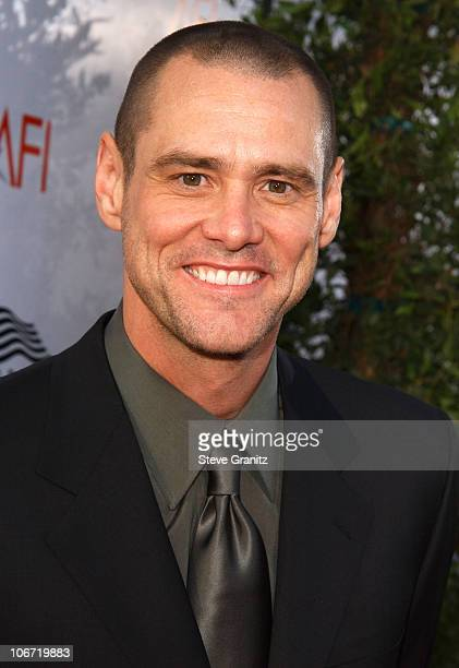 Jim Carrey during USA Network Presents 2004 AFI Lifetime Achievement Award A Tribute to Meryl Streep Arrivals at The Kodak Theater in Hollywood...