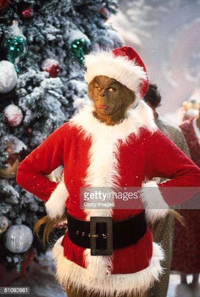 Jim Carrey Stars As The Grinch The Green Monster Who Disguises Himself As Santa Claus And Burglarizes Every Single House In The Village Of Whoville...