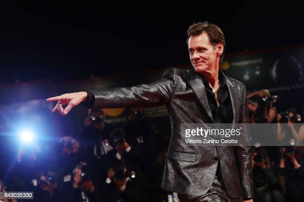 Jim Carrey walks the red carpet ahead of the 'Jim & Andy: The Great Beyond - The Story of Jim Carrey & Andy Kaufman Featuring a Very Special,...