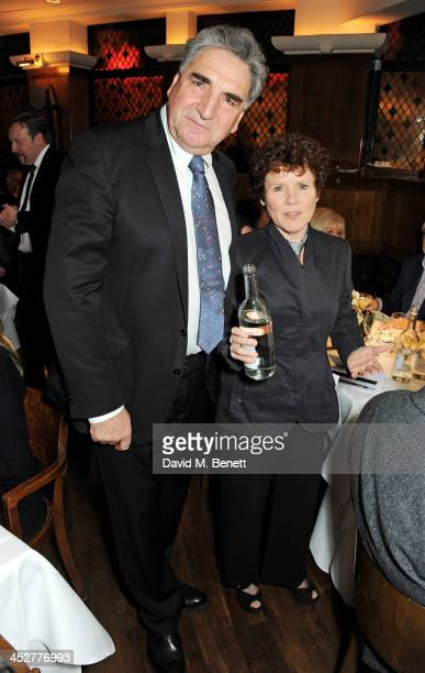Jim Carter and Imelda Staunton attend One Night Only at The Ivy in aid of Acting For Others supported by Tanqueray No TEN at The Ivy on December 1...