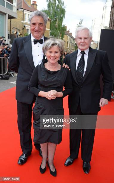 Jim Carter Imelda Staunton and Sir Derek Jacobi attend The Old Vic Bicentenary Ball to celebrate the theatre's 200th birthday at The Old Vic Theatre...