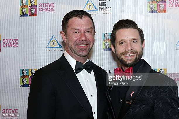 Jim Casey and Daniel Pintauro attend 22nd Annual Steve Chase Humanitarian Awards on February 6 2016 in Palm Springs California