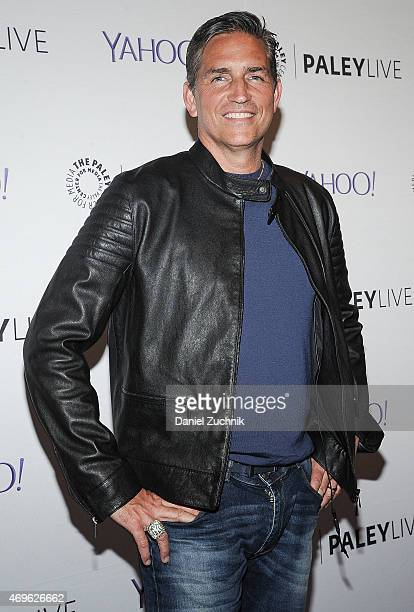 Jim Caviezel attends The Paley Center For Media Hosts An Evening With Person Of Interest at The Paley Center for Media on April 13 2015 in New York...